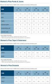 Old Navy Sock Size Chart 25 Best Plus Size Charts Images Size Chart Plus Size Chart