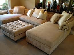 kenzie chaise sofa chaise sectional with extra long chaises matching ottoman yelp