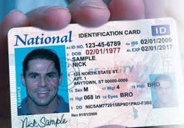 National Id Coming Fly Card It Need And — A To Will Is You Drive Soon