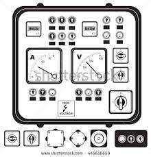 electrical fuse stock images, royalty free images & vectors Fuse Box Symbol vector black illustration of electric control panel with elements fuse, switch, indicator light fuse box symbols