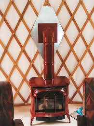 heat your yurt for the winter rainier