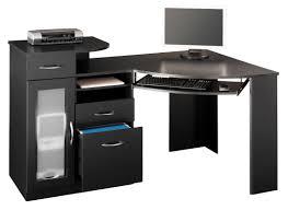 chic idea walker edison soreno 3 piece corner desk desks z line belaire glass l shaped