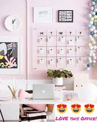 home office decoration ideas. I LOVE This Pink Home Office Decorating Idea! Such A Feminine Work Space, But Decoration Ideas