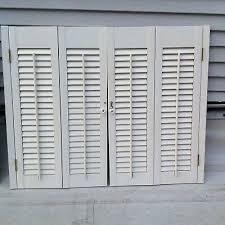 bi fold window shutters set of vintage interior bi fold window wood plantation louver shutters colonial