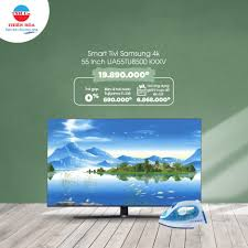 Điện Máy Thiên Hòa - 👉 Smart Tivi Samsung 4k 55 Inch UA55TU8500 KXXV giá  chỉ còn 19.890.000 đồng + Trả góp 0% + Tặng Bàn ủi hơi nước Fujiyama FI-108  trị