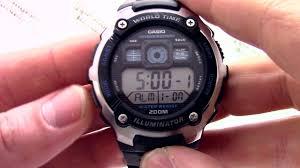 <b>Часы Casio</b> Illuminator <b>AE</b>-<b>2000W</b>-<b>1A</b> - Инструкция, как настроить ...