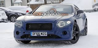 2018 bentley gt coupe. exellent bentley 2018 bentley continental gt coupe spied with less camouflage to bentley gt