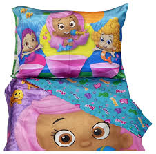 Captivating Bubble Guppies 4 Pc Toddler Bed Set Multi Colored : Target. View Larger