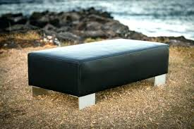 ottomans with metal legs black ottoman leather and oxford tufted square coffee table otto ottoman with metal legs leather