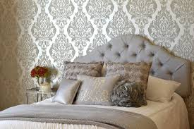 Silver Wallpaper Bedroom Glam Silver And White Teen Girl Bedroom Makeover Rachel Teodoro