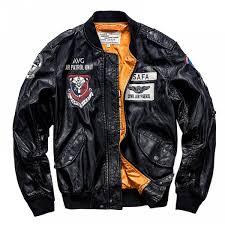 senarai harga air force pilot leather jacket men pu leather baseball uniform jaqueta masculina men s motorcycle leather jacket terkini di malaysia