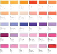 Pastel Color Code Chart Hkh Soft Pastel Colour Chart 3 The Paint Spot