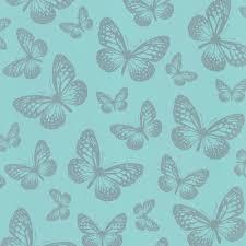 Teal Bedroom Wallpaper I Love Wallpaper Butterfly Shimmer Wallpaper Metallic Silver