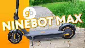 <b>Ninebot KickScooter Max</b> - Роллс-ройс среди самокатов! Двигайся ...