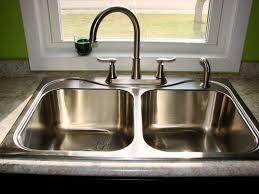 Kitchen Double Sink Plumbing Double Kitchen Sink Plumbing With