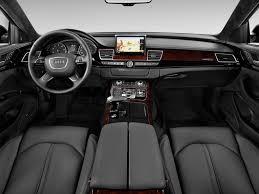 Image: 2013 Audi A8 L 4-door Sedan 4.0L Dashboard, size: 1024 x ...