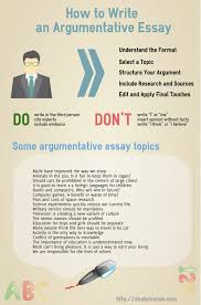 argumentative essay topics topics sample papers articles  how to write an argumentative essay