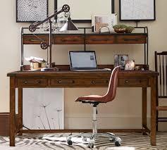 pottery barn bedford rectangular office desk. Pottery Barn Office Desk Recent Benchwright O Excellent Illustration With Medium Image Bedford Rectangular I