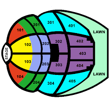 Pnc Bank Arts Center Lawn Seating Chart Seating Plan Pnc Bank Arts Center