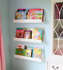 diy white minimalist wall mounted book shelves for little girls with regard to mount prepare 19