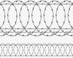 Barbed wire Fence Barbed wire vector png download 907707 Free