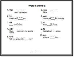 Free Sight Word Worksheets Printable Worksheets for all   Download ...