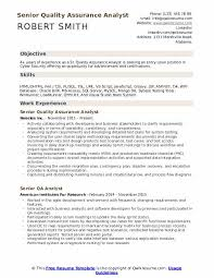 Quality Control Analyst Resumes Senior Quality Assurance Analyst Resume Samples Qwikresume