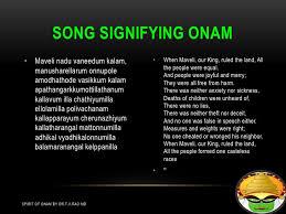 onam spirit of unity t v rao md 14 15 song signifying onam