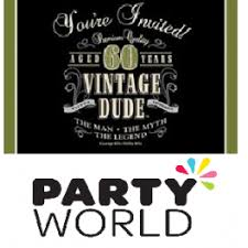 60 birthday invitations vintage dude 60th birthday invitations 8