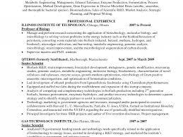 Microbiology Resume Sample Microbiology Resume Insurance Examiner