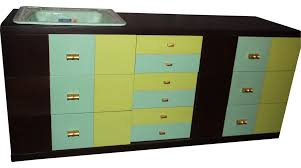 american standard bathroom vanities. Custom Retro Bath Vanity, American Standard Sink, Annie Sloan Chalk Paint, Vintage Bathroom Vanities