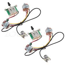 2sets two pickup guitar wiring harness,3 way blade switch 500k How To Determine Wire Colors For Humbuckers 2sets two pickup guitar wiring harness,3 way blade switch 500k,great with humbuckers