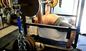 Bench Press With Chains Training Chain Press Bench Press Routine Chains Bench Press
