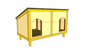 dog houses plans feat how to build a double dog house for produce awesome small dog dog houses plans