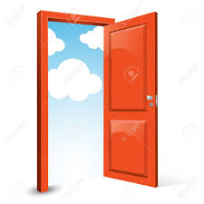 opening front door. Open Front Door Illustration Opening T