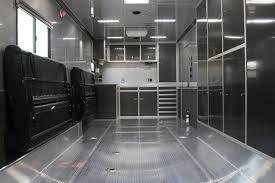 details 34 custom aluminum intech race car trailer