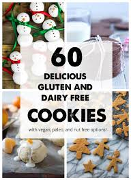 gluten free and dairy free