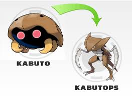 Evolution Kabuto Evolution Chart