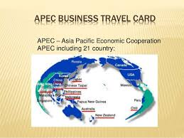Apec Business Travel Card карта атэс