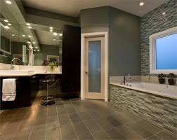 rounded some awesome bathroom accent wall ideas