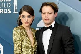 Charlie Heaton on dating 'Stranger Things' co-star Natalia Dyer