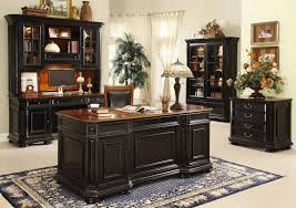 traditional home office furniture. brilliant black office furniture home traditional i