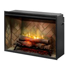 dimplex electric fireplaces fireboxes inserts s revillusion 36 built in firebox