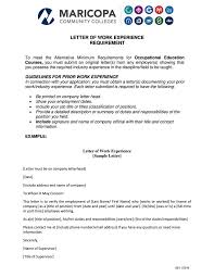 Experience Certificate Sample Of Computer Operator Letter
