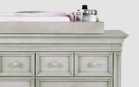 dresser pad white malm custom hemnes appealing top table diy baby wicker diaper topper any station