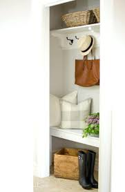 entryway closet ideas crmped cot beutiful frmhouse fmily organization  pinterest small storage
