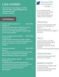 Online Resume Examples for 2015 http://www.resume2015.com/online