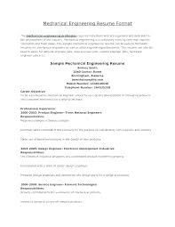 Career Objective For Mechanical Engineer Resume Sample Mechanical Engineer Resume Dew Drops