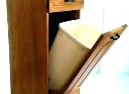 wood trash cabinet wood tilt out trash cabinet trash can cabinet tilt out trash cabinet trash can storage cabinet