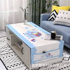 coffee table cloth cotton linen cloth